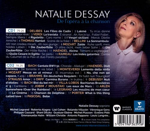 reviews of natalie dessay Find a natalie dessay - mad scenes first pressing or reissue complete your natalie dessay collection shop vinyl and cds.