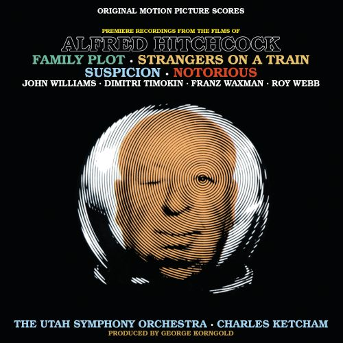 Music From the Films of Alfred Hitchcock: Family Plot, Strangers On A Train, Suspicion & Notorious [Original Motion Picture Scores]