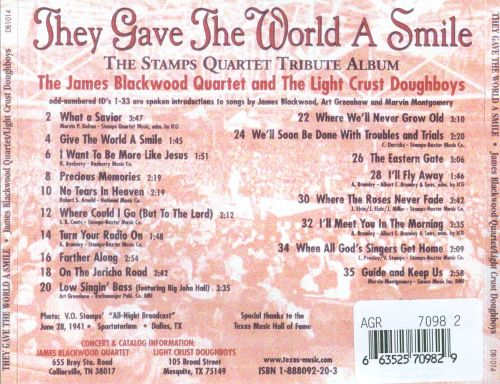 They Gave the World a Smile: The Stamps Quartet Tribute Album