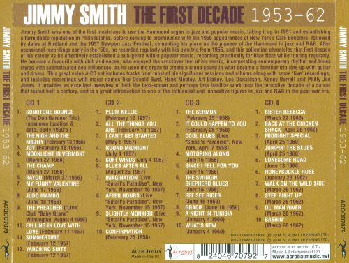 The First Decade 1953-1962