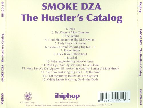 The Hustler's Catalog