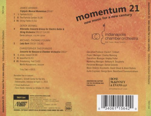 Momentum 21: New Music for a New Century