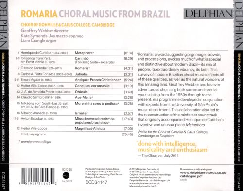 Romaria: Choral Music from Brazil