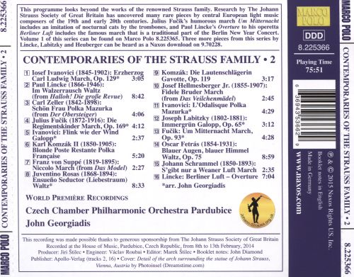 Contemporaries of the Strauss Family, Vol. 2