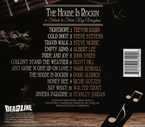 The House Is Rockin': A Tribute to Stevie Ray Vaughan