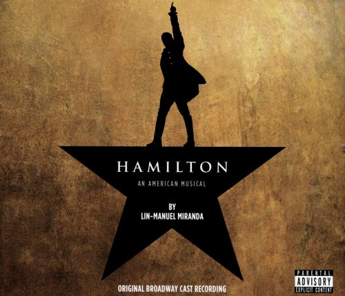 Hamilton : original Broadway cast recording / book, music and lyrics by Lin-Manuel Miranda.