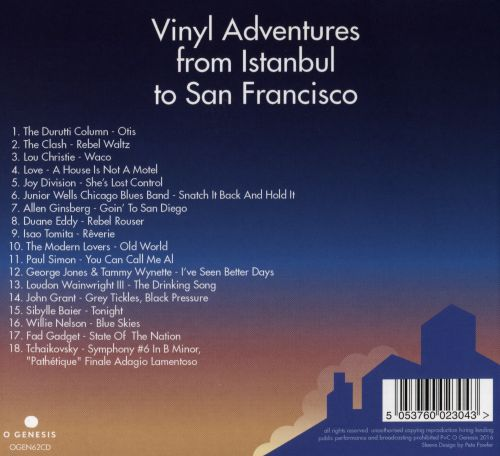 Tim Burgess Presents: Vinyl Adventures From Istanbul to San Francisco