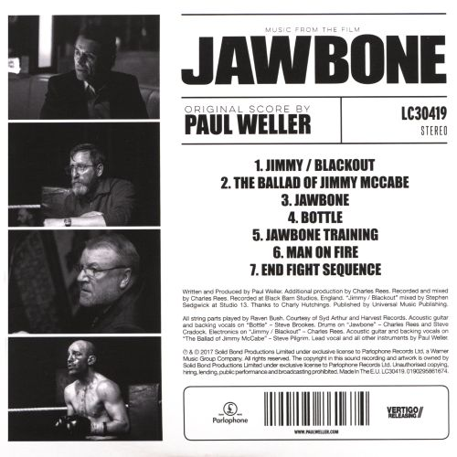 Jawbone [Music from the Film]