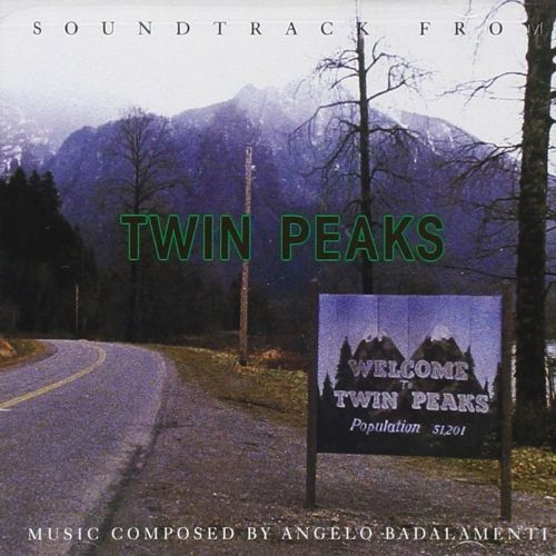 Levyn kansikuva: Soundtrack from Twin Peaks: music composed by Angelo Badalamenti