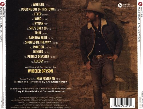 Wheeler [Music From the Motion Picture]