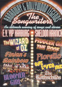 Broadway & Hollywood Legends: The Songwriters - Yip Harburg/Sheldon Harrick