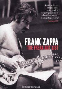 Frank Zappa: The Freak Out List
