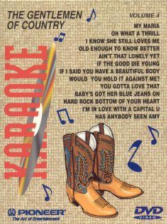 Karaoke: Country, Vol. 4 - The Gentlemen of Country