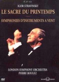 Igor Stravinsky: Le Sacre du Printemps/Symphonies d'Instrument a Vent
