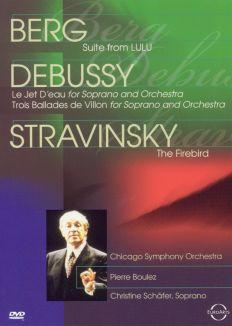 Berg\Debussy\Stravinsky