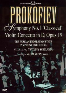 "Prokofiev: Symphony No. 1 ""Classical"" and Violin Concerto in D, Opus 19"
