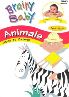 Brainy Baby: Animals - Apes to Zebras