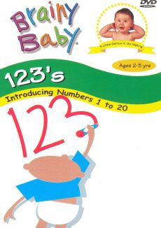 Brainy Baby: 123's - Introducing Numbers 1 to 20