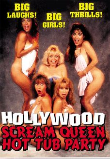 Hollywood Scream Queen Hot Tub Party