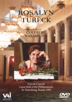 Rosalyn Tureck: Bach - Goldberg Variations/St. Petersburg, Russia