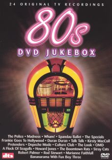 80s DVD Jukebox