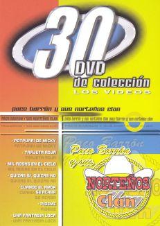 30 DVD De Coleccion: Paco Barron/Sus Nortenos Clan