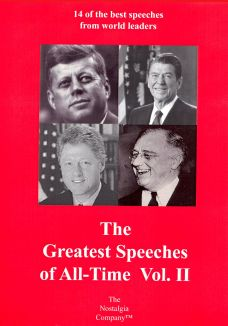 The Greatest Speeches of All Time, Vol. 2