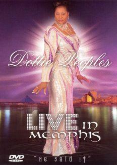 Dottie Peoples: Live In Memphis