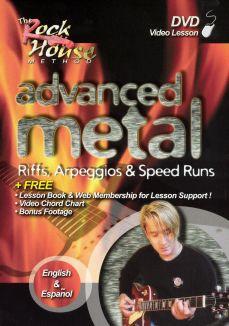 The Rock House Method: Advanced Metal - Riffs, Arpeggios & Speed Runs