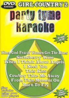 Party Tyme Karaoke: Girl Country, Vol. 2