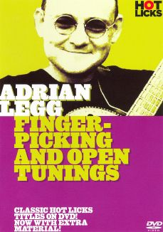 Adrian Legg: Fingerpicking & Open Tuning