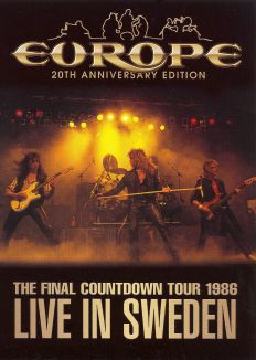 Europe: Final Countdown Tour - Live in Sweden 1986