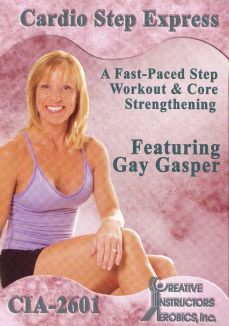 Gay Gasper: Cardio Step Express