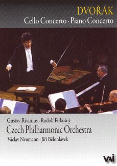 Czech Philharmonic Orchestra: Dvorák - Piano Concerto/Cello Concerto