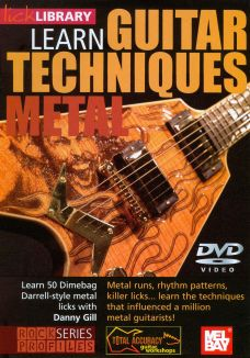 Lick Library: Learn Guitar Techniques - Metal Dimebag Darrell Style