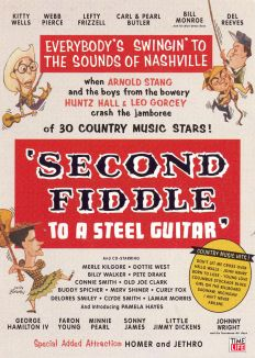 Second Fiddle to a Steel Guitar