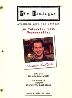 The Dialogue: Learning From the Masters - Simon Kinberg
