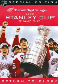 NHL: Stanley Cup 2007-2008 Champions - Detroit Red Wings