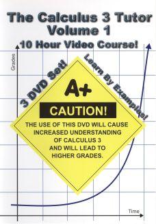 Jason Gibson: Calculus 3 Tutor, Vol. 1 - 10 Hour Course