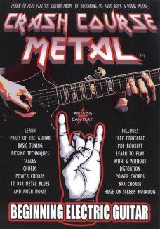Crash Course Metal: Beginning Electric Guitar