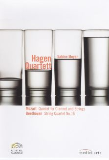 Hagen Quartett: Mozart Quintet for Clarinet and Strings/Beethoven String Quartet No. 16
