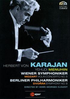 Herbert Von Karajan: Mozart - Violin Concerto No. 5/Dvorak - Symphony No. 9