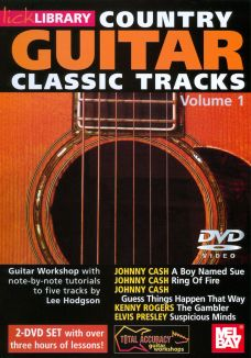 Lick Library: Country Guitar Classic Tracks, Vol. 1