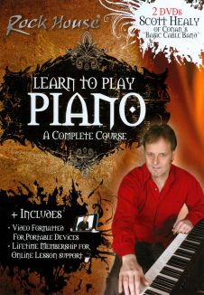 Rock House: Learn to Play Piano - A Complete Course with Scott Healy