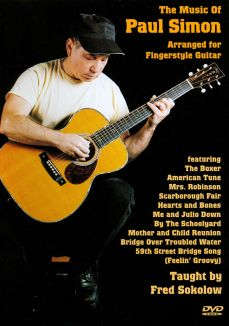 Fred Sokolow: The Music of Paul Simon Arranged for Fingerstyle Guitar
