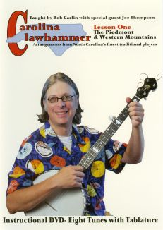 Carolina Clawhammer, Lesson One: The Piedmont and Western Mountains