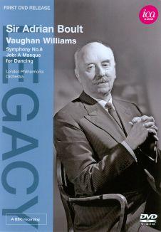 Sir Adrian Boult: Vaughan Williams - Symphony 8/Job: A Masque for Dancing