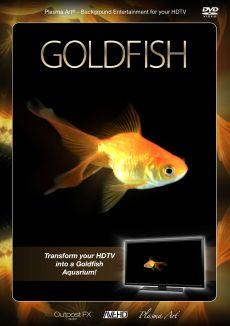 Plasma Art: Goldfish