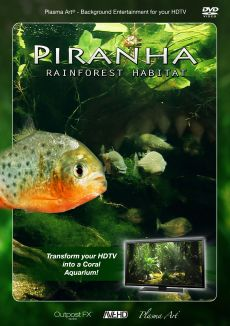 Plasma Art: Piranha - Rainforest Habitat