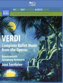 Bournemouth Symphony Orchestra/Jose Serebrier: Verdi - Complete Ballet Music from the Operas